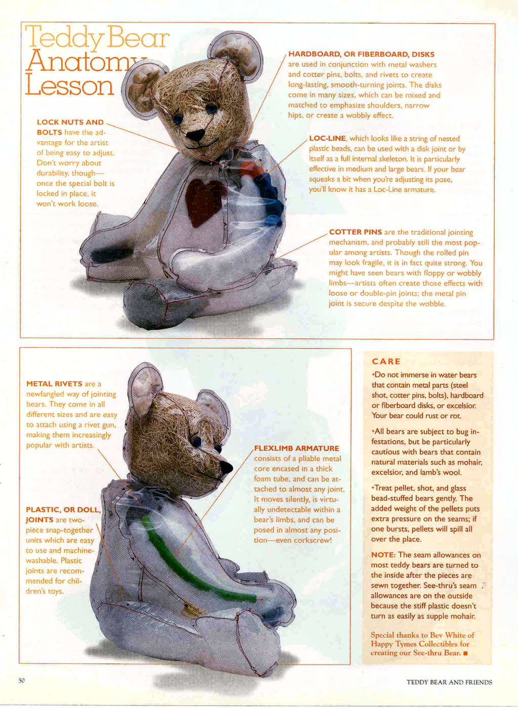 Profile Of American Teddy Bear Artist Beverly White And History A Of Happy  Tymes Collectibles